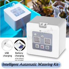 Automatic Drip Irrigation USB/Battery Indoor Timing Plant Self Watering System