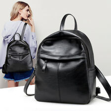 Leisure Faux Leather Large Capacity Adjustable Straps Woman Bag Backpack USA