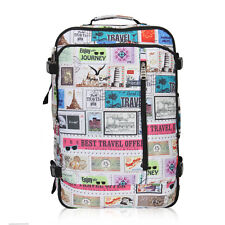 Cabin Approved 20'' Carry-on Backpack Suitcase Travel Weekender Air Luggage Bag