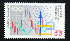 Germany 1991 Mi 1553 MNH**Sc 1680 Radio exhibition Berlin