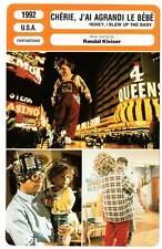FICHE CINEMA : CHERIE J'AI AGRANDI LE BEBE Moranis 1992 Honey,I Blew Up The Baby