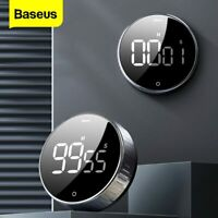 Baseus LCD Digital Timer Magnetic 99s Countdown Stopwatch Kitchen Cooking Alarm