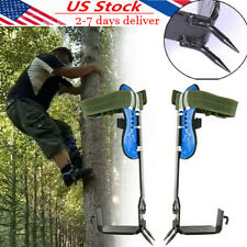 2 Gears Tree Climbing Spike Set Safety Belt Adjustable Rope Rescue Belt Sturdy