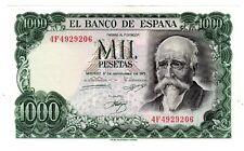 Espagne SPAIN ESPANA Bilet 1000 PESETAS 1971 P154 ECHEGARAY QUASI NEUF AU - Aunc