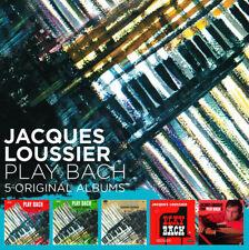 Jacques Loussier : Jacques Loussier: Play Bach - 5 Original Albums CD (2018)