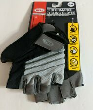Bell Ramble 500 Size S-M Warm Weather Riding Cycling Gloves  Black/grey stripe