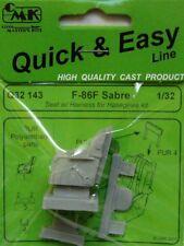 CMK 1/32 F-86F Sabre Seat w/ Harness # Q32143