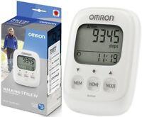 Omron HJ325 WHITE Walking Style IV Pocket Pedometer Step Counter / Brand New
