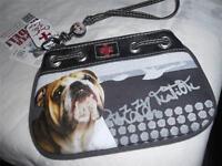 My Bulldog FUZZY NATION Wristlet