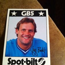 1982 George Brett Spot-bilt Advertising Basebalk Card Royals Rare