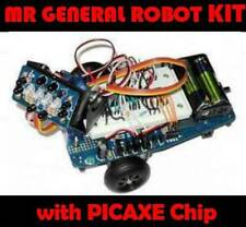 Mr General Robot kit, Dagu MGRK01 (with PICAXE, small Robot Chassis arduino)