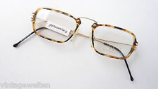 Rodenstock eckige Herren Brille Hornoptik braun flexible Metallbügel Grösse S