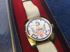 Vintage wind-up Richard Nixon Political Character Watch by Precision Watch Co.