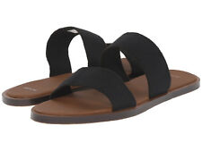 Women Sanuk Yoga Gora Gora Slide Straps Sandal 1011618 Black 100% Original New