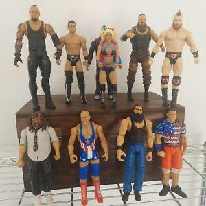 WWE strowman Sheamus graves  Figure Lot (10) Mattel WWE Wrestling Loose