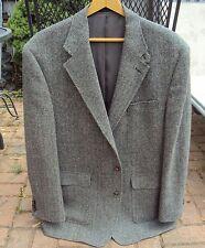 Lauren Ralph Lauren Sport Coat 2 Button Single Vent Herringbone Suede Elbow Pads