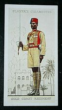 Gold Coast Regiment   Royal West African Frontier Force      Vintage Card