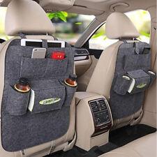 New Auto Car Seat Back Multi-Pocket Storage Bag Organizer Holder Accessory Grey
