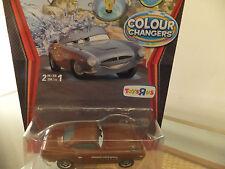Disney Pixar Cars Colour/Color Changer Finn McMissile  British spy ! Ultra Rare