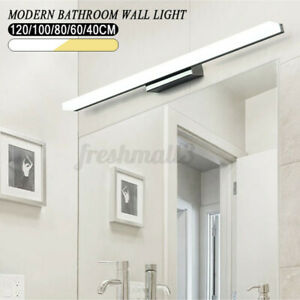 Modern Bathroom LED Anti-fog Mirror Front Make-up Wall Light Toilet Vanity