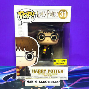 FUNKO POP! HARRY POTTER WITH HEDWIG #31 HOT TOPIC EXCLUSIVE
