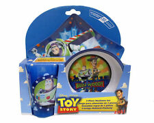 Toy Story Mealtime Dinnerware Set Includes Plate Bowl and Cup by Disney-New!