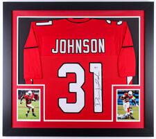 a7c0490b1 David Johnson Signed Arizona Cardinals 31x35 Custom Framed Jersey (Beckett  COA)