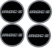 "1988 Camaro 15"" IROC-Z Silver Wheel Center Cap Medallion, Set of 4 10087758x4"
