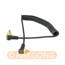 Male to Male M-M FLASH PC Sync Cable Cord w/ Screw Lock