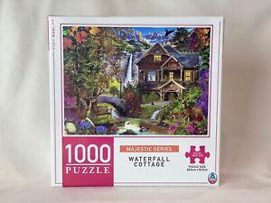 Waterfall Cottage 1000 Piece Jigsaw Puzzle 68.5cm x 50.5 cm