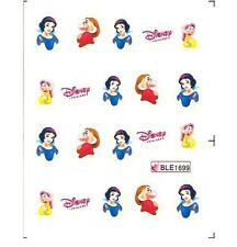 Disney Snow White Dwarf Nail Stickers Nail Art Decal Manicure Water Transfer
