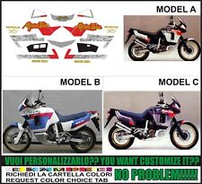 kit adesivi stickers compatibili xrv 750 africa twin rd 04 1992