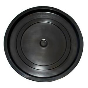 Argee Bucket Lid Pail Cover Round 3.5 5 Gallon Black Plastic Accessory 10 Case