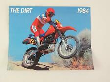 1984 Honda The Dirt CR250R CR250 Z50R Z50 XL80S XL80 Dealer Brochure L150