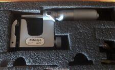 """Mitutoyo 117-107 Anvil Micrometer 0-1"""" .0001"""""""