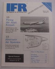 IFR Pilot Magazine Flying The Atari Ferrari March 1990 FAL 061815R