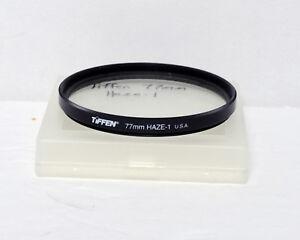 Tiffen 72mm Haze-1 Haze 1 Filter Black 35mm SLR film DSLR Digital