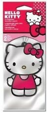HELLO KITTY CAR AND HOME STRAWBERRY SCENT AIR FRESHNER, (PACK OF 2) GREAT GIFT