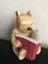 Classic Winnie The Pooh Disney Charpente Bank Reading All About Honey Book