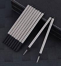 12x Black Mont Blanc Compatible Rollerball Refills - Medium Tip