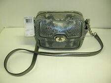 COACH F24849  GRAY CAMERA BAG W/TAG 9X6X4- MAKE OFFERS!!!!