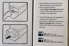Papier encre pour imprimante Rollei Lot 2 pack 36 stock France port 0€