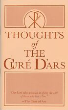 CATHOILC BOOKLET   THOUGHTS OF THE CUR'E D'ARS   BY TAN BOOKS