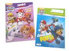 Paw Patrol Rescue Pups Jumbo Kids Coloring Book Activity Books Nickelodeon