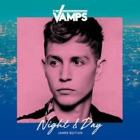 Hand Signed -THE VAMPS NIGHT & DAY - JAMES MCVEY EDITION CD - Brand new sealed