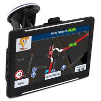 """GPS 7 """" navigation HD Toucher Écran EU  Carte 8G+DDR256M Poids lourd Navigateur"""