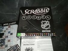Scrabble NHL Hockey Edition Complete Board Game Complete
