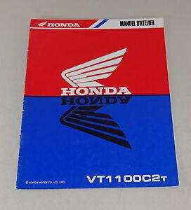 Suplemento Para Manual de Taller / Manual D'Atelier Honda VT 1100C 2T De 1995