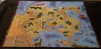 D&D GREYHAWK 4 Panel Map Set Lot Dungeons & Dragons Dungeon 118 119 120 121 NEW!