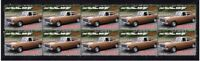 1967 FORD FALCON XR GT STRIP OF 10 MINT AUTO VIGNETTE STAMPS 3